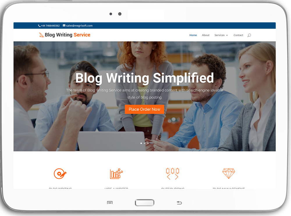 blog publishing service plan uk